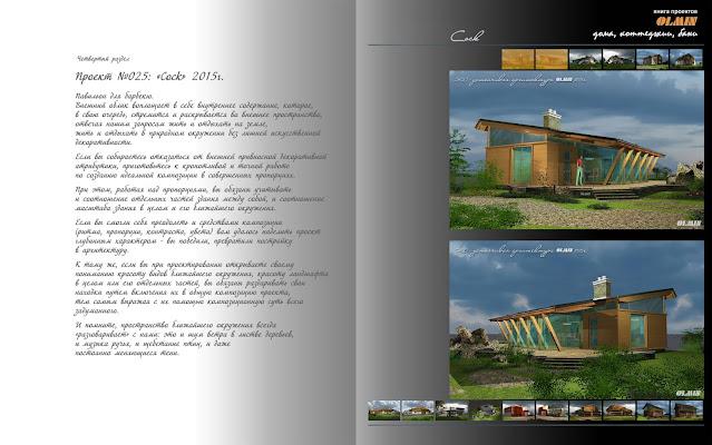 Проект дома с барбекю, идеальная композиция