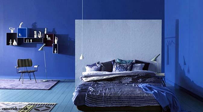 55 Dekorasi R Tidur Sederhana Warna Cat Biru Minimalis Klasik Dan Modern Desainrumahnya