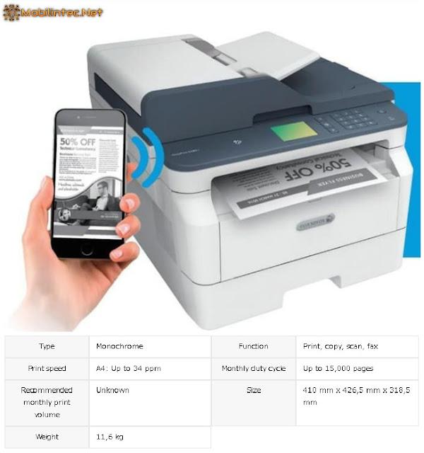 Fuji Xerox DocuPrint M285z printer laser