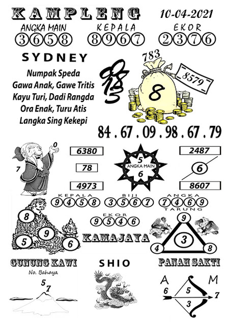 Kampleng Sidney Sabtu 10-Apr-2021