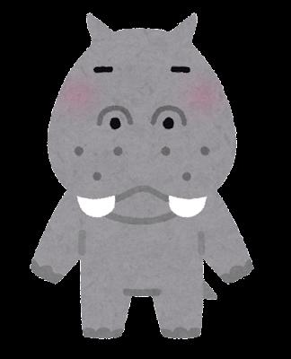 カバのキャラクター