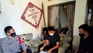 Sambang Warga Aiptu Uus Rusmana Binmas Rancaekek Polresta Bandung Imbauan Prokes