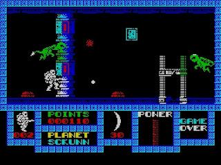 Game Over - Zx Spectrum