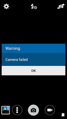 cara perbaiki kamera failed samsung