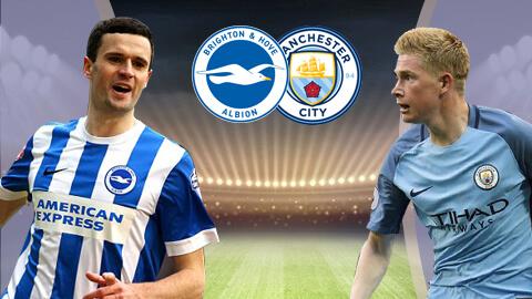 مباراة مانشستر سيتي وبرايتون يلا شوت 31-08-2019 في الدوري الانجليزي Live : manchester-city vs brighton