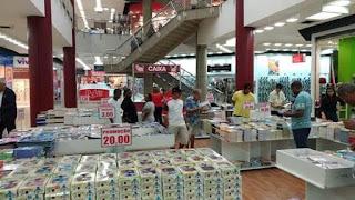 Center Shopping Rio recebe a 'Feira do Livro Emergir'