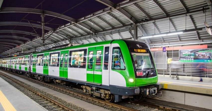 CENSO 2017: Metro de Lima suspenderá servicio de las 08:00 a 17:00 horas del domingo 22 Octubre