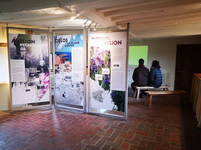 Exhibition about recreating the Delos garden