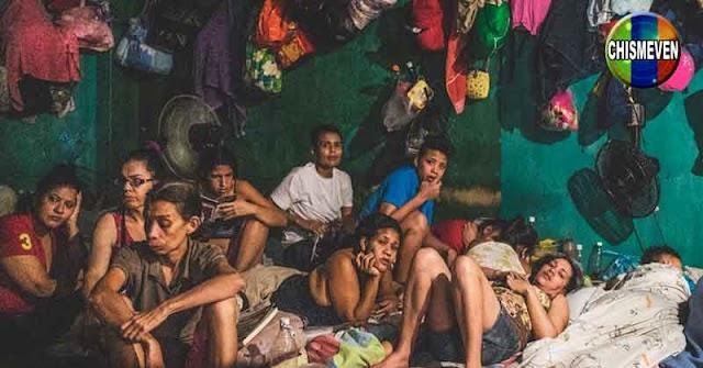 Mujeres presas en Venezuela sobreviven como animalitos enjaulados