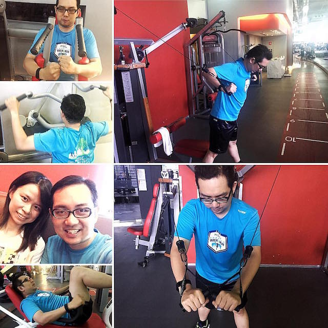 Another one of my PT session, at the local gym