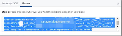 caramenambahkanfacebookpagepadablog
