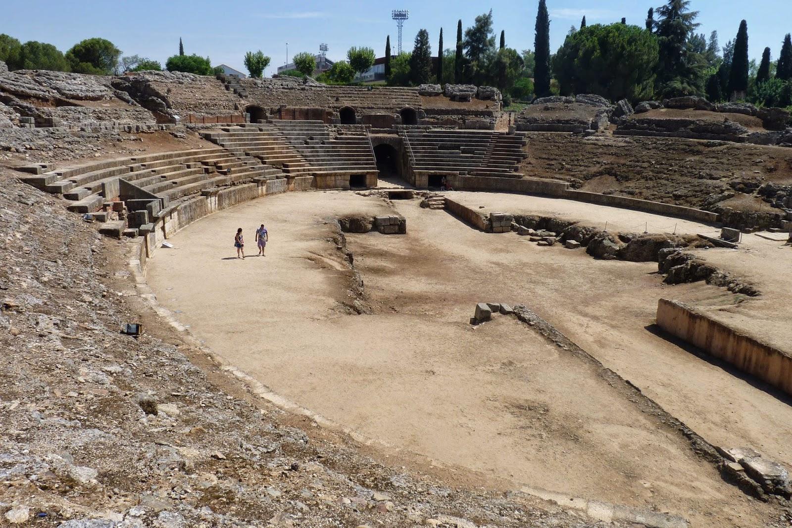 Anfiteatro de Mérida.