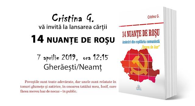 Ce am făcut în 2019: Autor Cristina G. Gherghel - Gheraesti