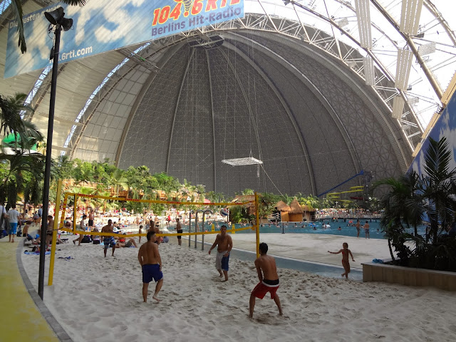 Indoor water park in Germany