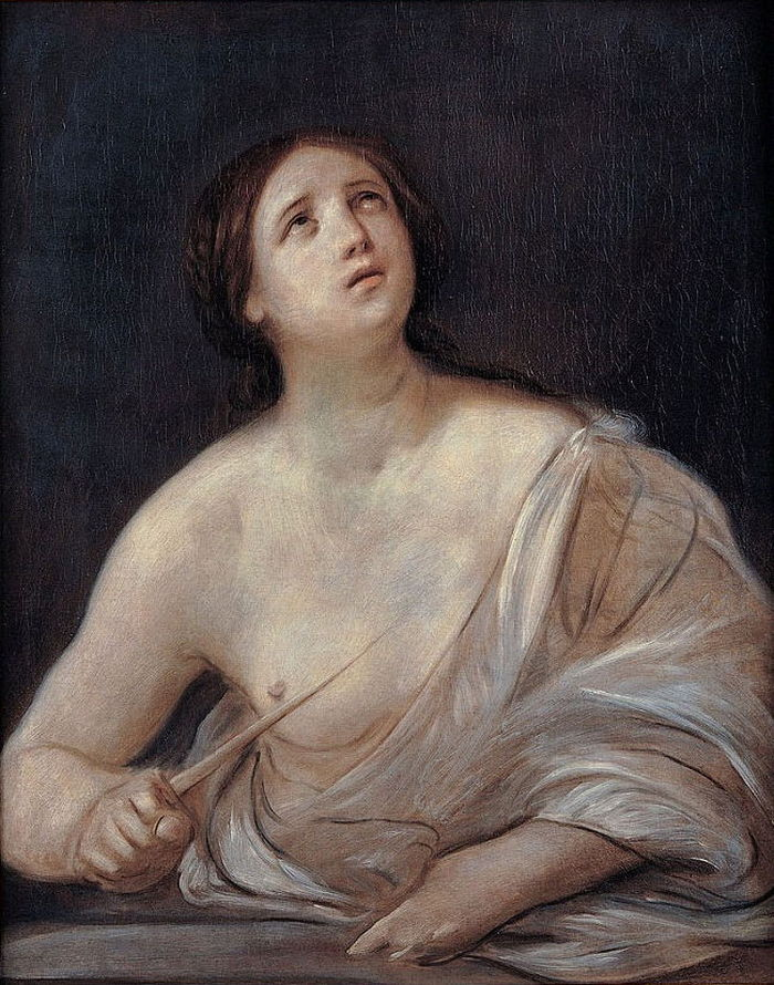Guido Reni. Lucretia