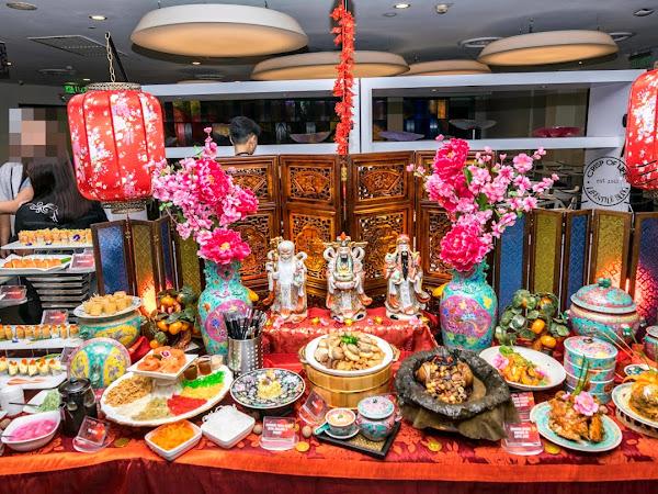 Properous Chinese New Year Buffet Dinner by Award Winning Chef Heng @ Hard Rock Hotel Penang