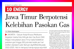 East Java Potentially Excess Gas Supply