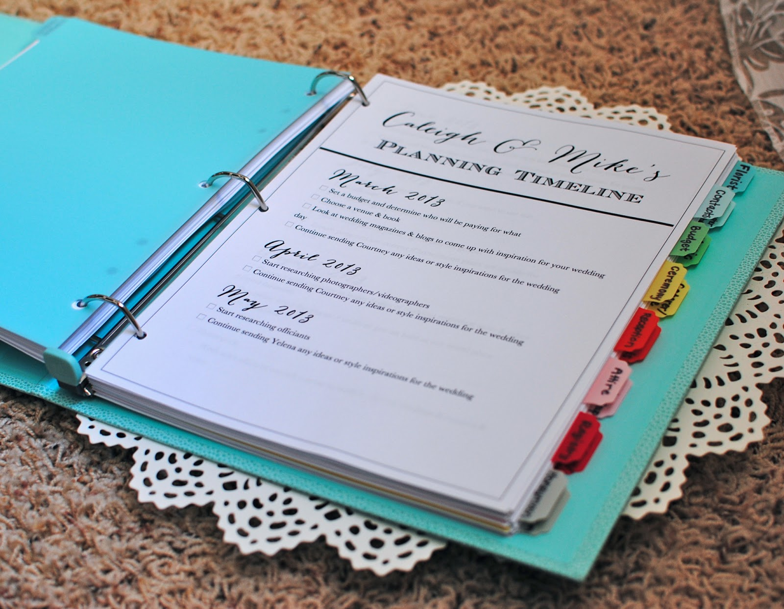the wedding planner wedding planner binder