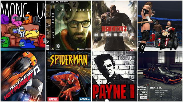 8 Top compressed PC Game under 500 MB