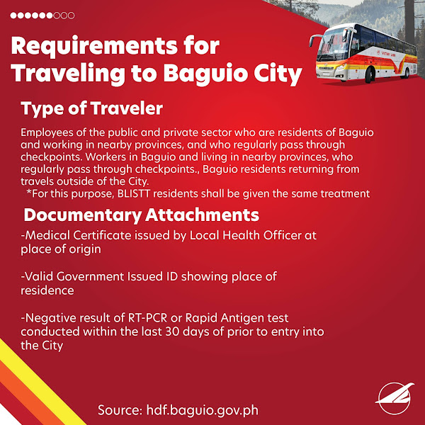 Victory Liner Manila to Baguio Bus Schedule and Travel Requirements