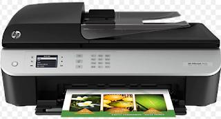 Der HP Officejet 4634 e-All-in-One-Wi-Fi-Drucker und Fax ist ein effektives Gerät, das Drucken, Scannen, Kopieren und Faxen ermöglicht