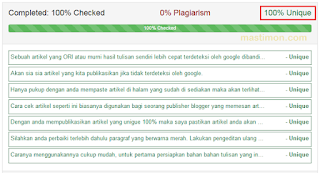 Cara Cek Artikel Blog Original Atau Copas (Copy Paste)