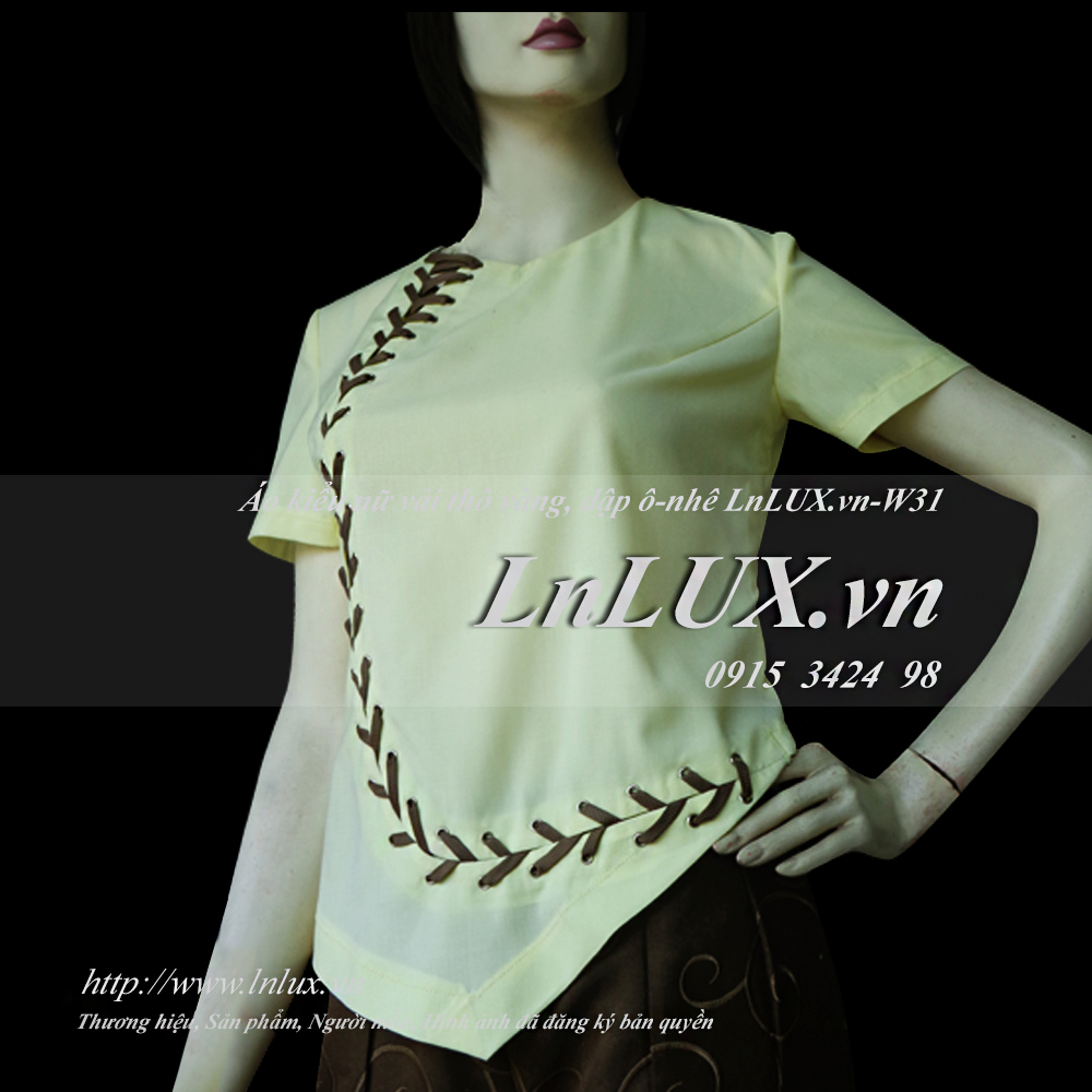 lnlux.vn-ao-kieu-nu-vai-tho-vang-dap-o-nhe-lnlux-w31.
