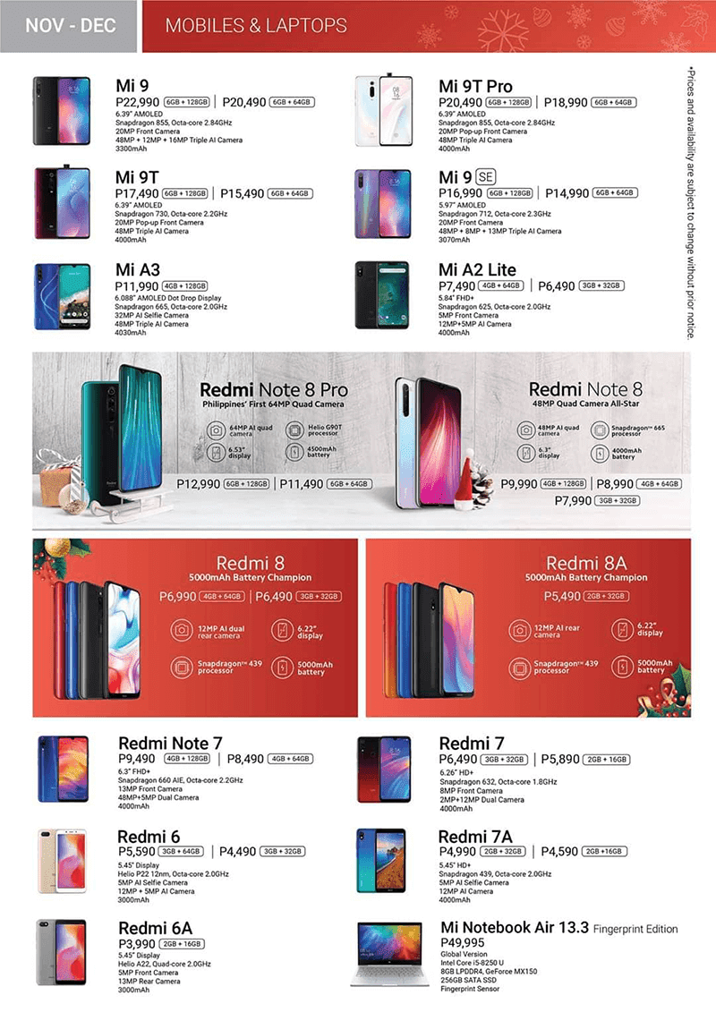 Mobile and laptop deals