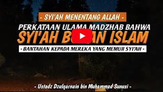 Syiah itu Islam atau Bukan - Ustadz Dzulqarnain Bin Muhammad Sunusi [Video]