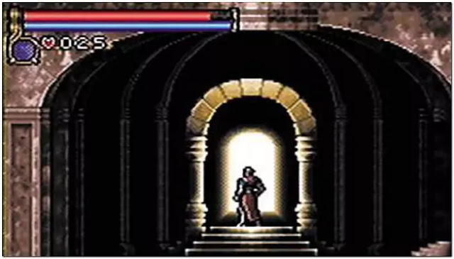 Castlevania Circle of the Moon Game Boy Advance