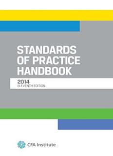 Standards of Practice Handbook, Eleventh Edition 2014