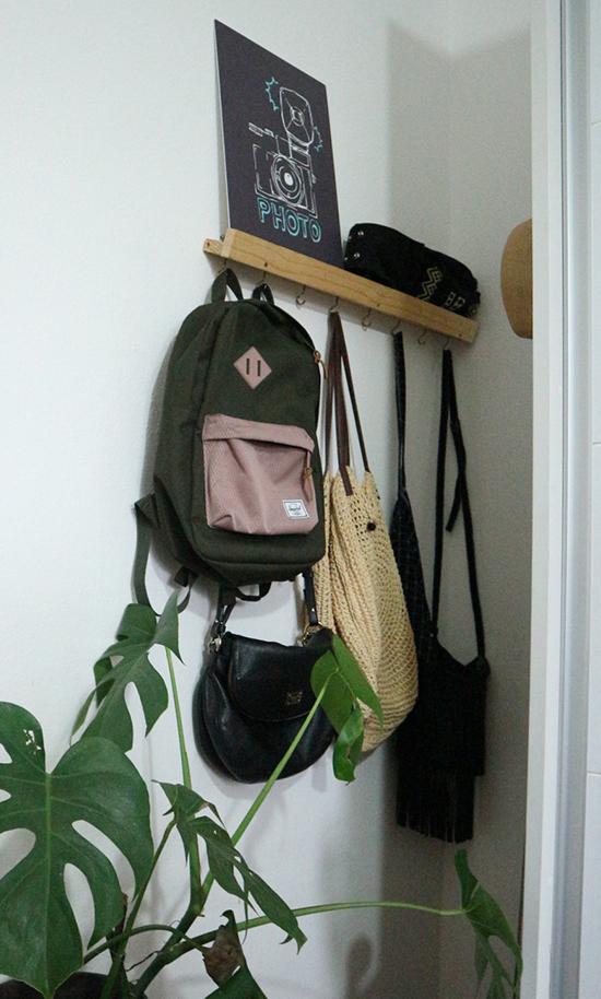 Hanger, a casa eh sua, decoração, decor, cabideiro, faça você mesmo, diy, sala