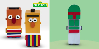 San Diego Comic-Con 2020 Exclusive False Idols Mini Art Show by ADi x DKE Toys