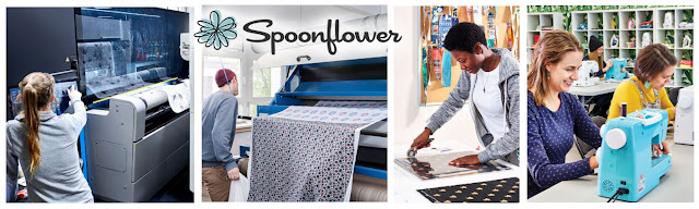 Find out about Spoonflower, how they print fabrics and their mission statement