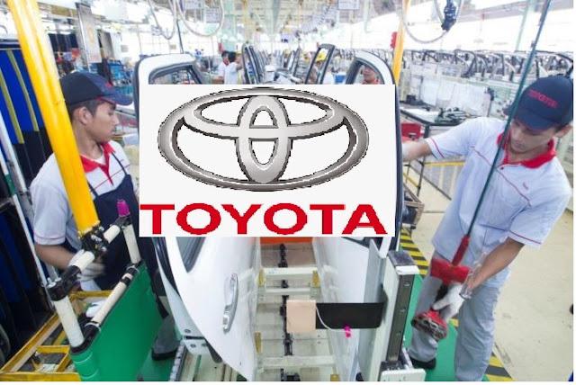 Lowongan Kerja PT. Toyota Motor Manufacturing Indonesia, Jobs: Internship Program.