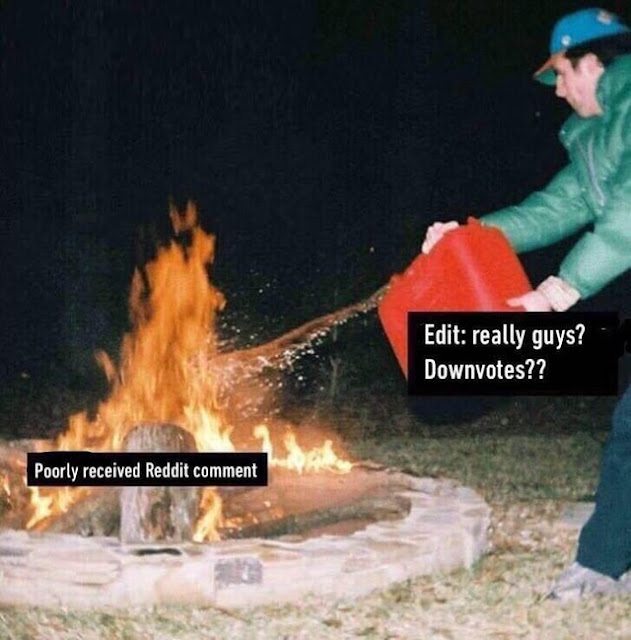 Adding fuel to the fire, literally
