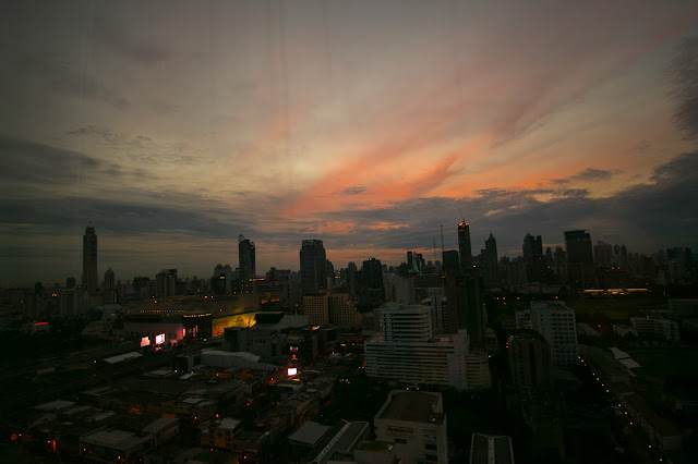 Alba dall'hotel Pathumwan princess-Bangkok
