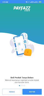 cara daftar dari aplikasi Payfazz