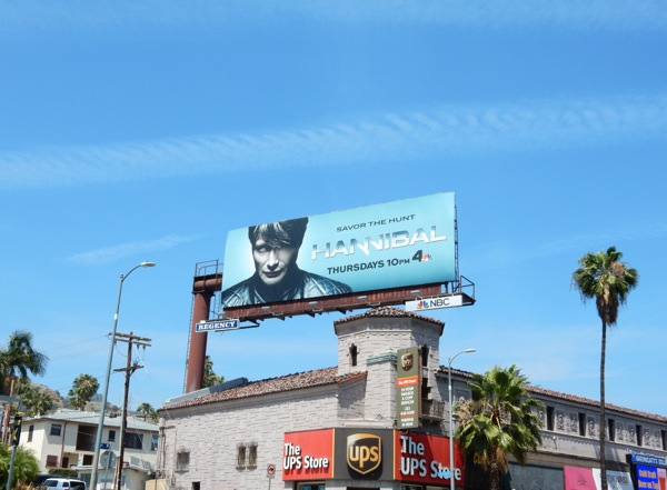 Hannibal series 3 NBC billboard