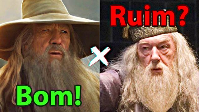 Personagens como Dumbledore podem estragar uma história?