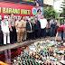 Polres Metro Jakarta Pusat Musnahkan 2.109 Botol Miras