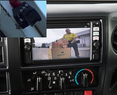 rear camera hino