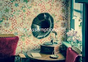 Your Assumptions!!!