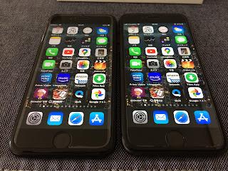 iPhoneSE とiPhone8