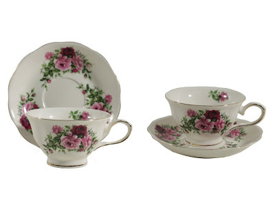 Gracie China teacups