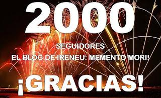Por Sant Jordi, superados los 2000 seguidores