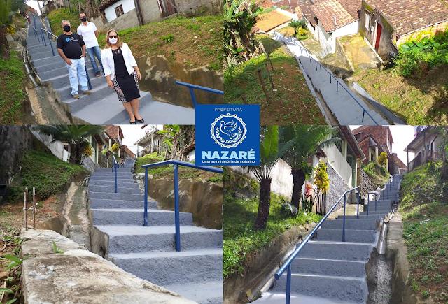 PIROPO NEWS: NAZARÉ: Prefeitura entrega Nova Escadaria do Alto do ...