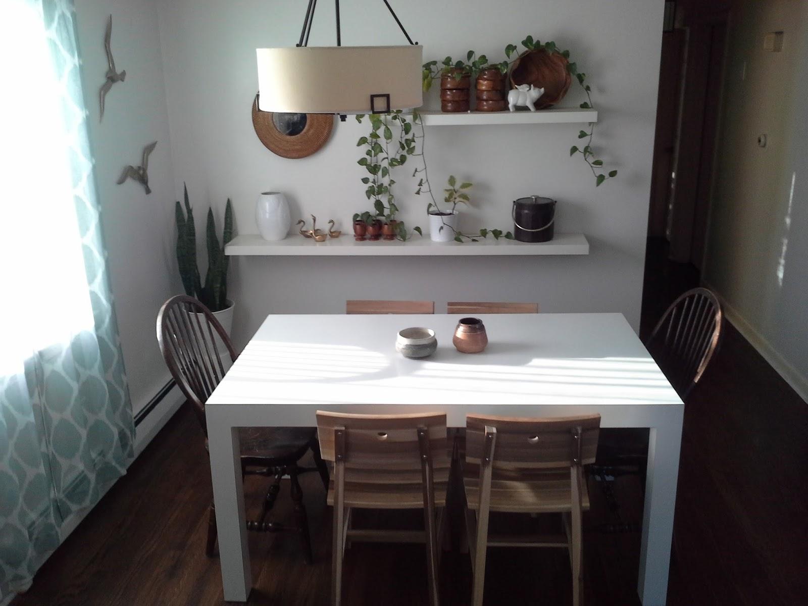 Ikea dining room 2016 - Ikea Skogsta Chair Parsons Dining Table