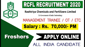 Rashtriya Chemicals and Fertilizers Limited (RCFL) Recruitment for 393 Management Trainee, Assistant Officer and Other Posts Apply Online@rfcltd.com /2020/07/RCFL-Recruitment-for-393-Management-Trainee-Assistant-Officer-and-Other-Posts-Apply-Online-rfcltd.com.html