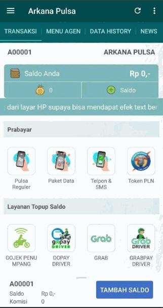 Cara Download & Instal Aplikasi Android Arkana Pulsa
